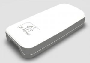 IC-Meter-enheder måler temperatur, fugt og CO2 og sender data til en database.
